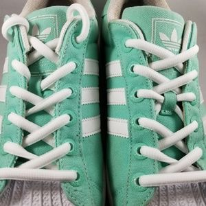 Details about NEW Womens Adidas Superstar 2 Green Turquoise Aqua White M17596 11